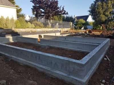 Fondation construction maison
