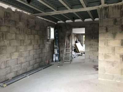 Chantier construction maison Lorient