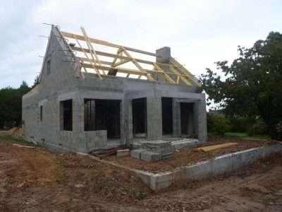 Maison en construction à Lorient