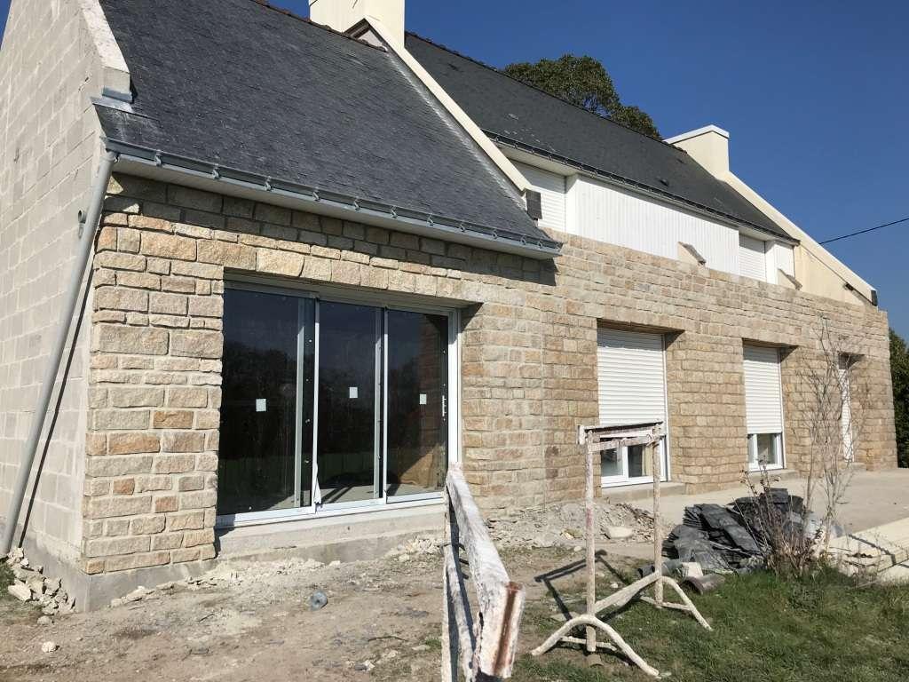 Extension maison morbihan finalisée